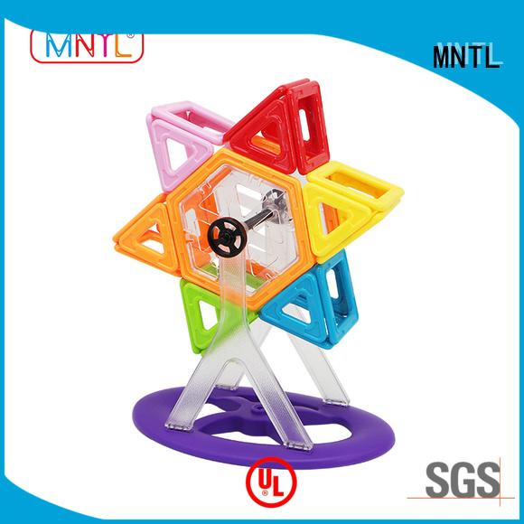 2019 magnetic blocks for kids ABS plastic Magnetic Construction Toys For Children