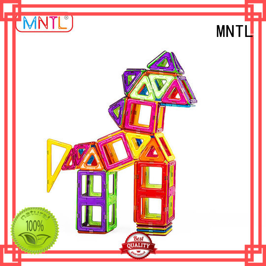 MNTL blue, magnetic construction set Best building block For Children