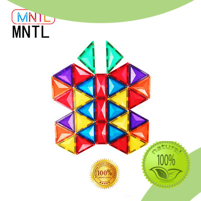 solid mesh magnetic tiles ABS plastic Best building block For 3 years old