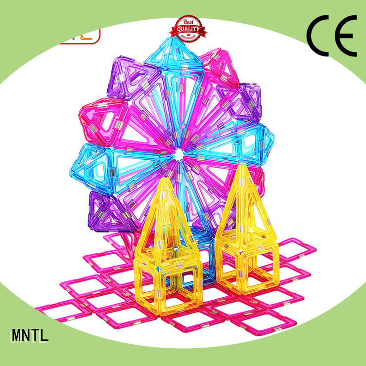 high-quality Crystal Magnetic Building Blocks High quality free sample For Children