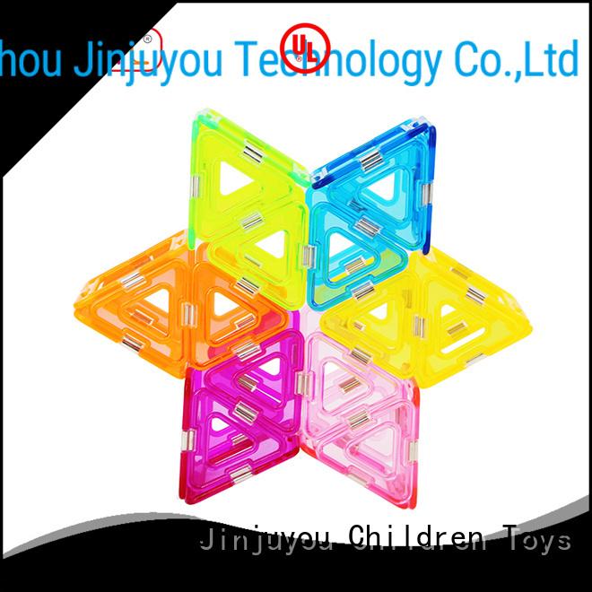MNTL strong magnet Crystal Magnetic Building Blocks supplier For Children