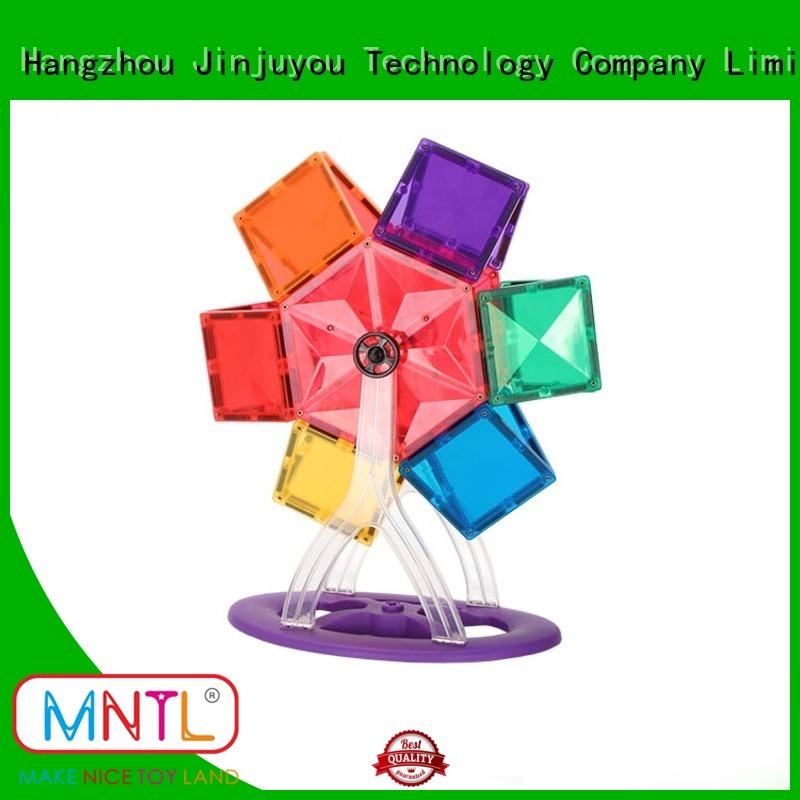 MNTL yellow, magnetic building blocks Best Toys For Children