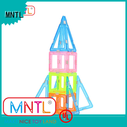 MNTL at discount Crystal Magnetic Building Blocks OEM For kids
