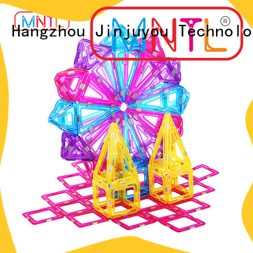 High quality Crystal Magnetic Building Blocks Best toy in 2019 For kids