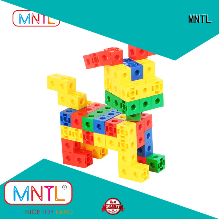 rose red Plastic Magnetic Building Tiles Educational Conventional High quality For Toddler