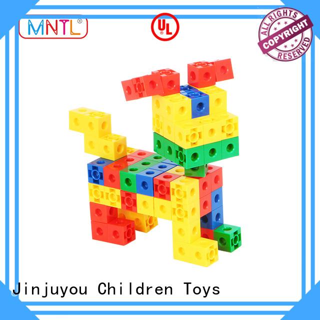 MNTL Inspirational plastic blocks toys purple For Toddler