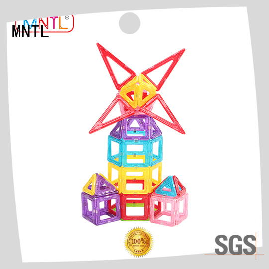 MNTL Best toy for children Mini building magnets free sample For kids over 3 years