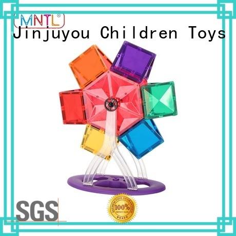 MNTL funky magnetic building blocks Magnetic Construction Toys For kids