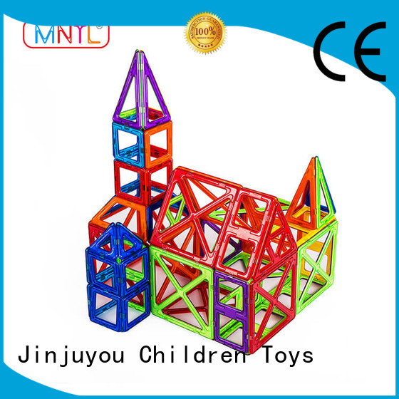 2019 Classic Magnetic Building Blocks blue, DIY For kids