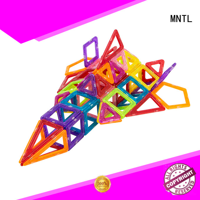 MNTL High quality Mini magnetic tiles supplier For kids over 3 years