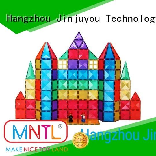 MNTL solid mesh magnetic tiles Best building block For kids