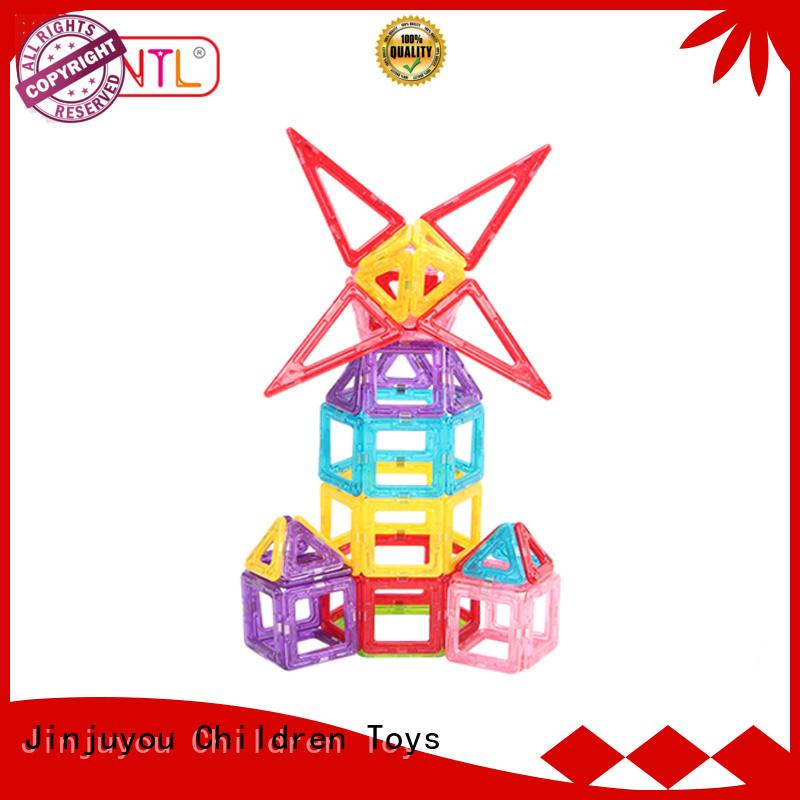 best magnetic toys Mini magnetic tiles orange, free sample For Children