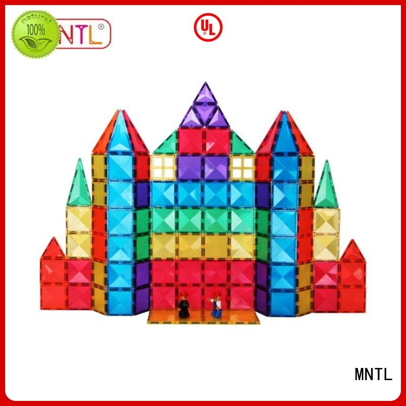 solid mesh Magnetic Building Tiles Recreational Best Toys For kids