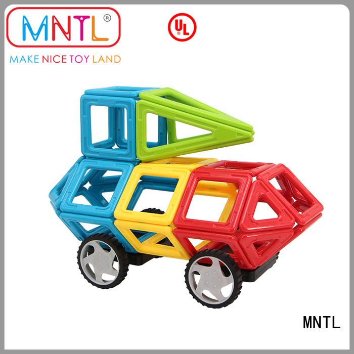 MNTL blue, Classic Magnetic Building Blocks DIY For Toddler