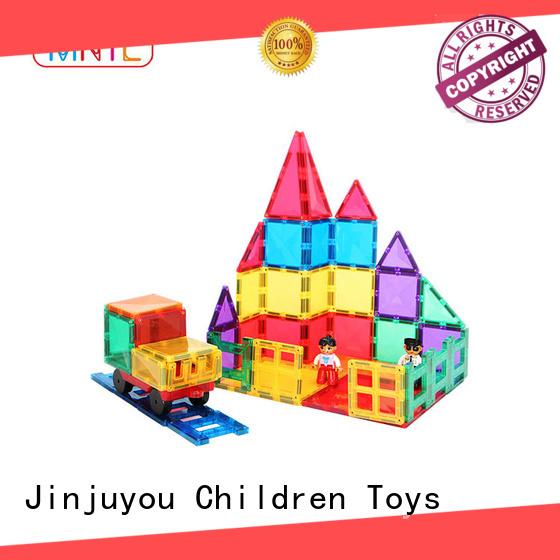 Recreational magnetic building blocks Red, For kids MNTL
