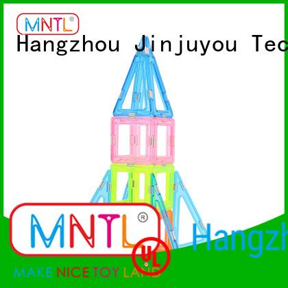 MNTL Breathable magnetic building blocks for toddlers supplier For Toddler