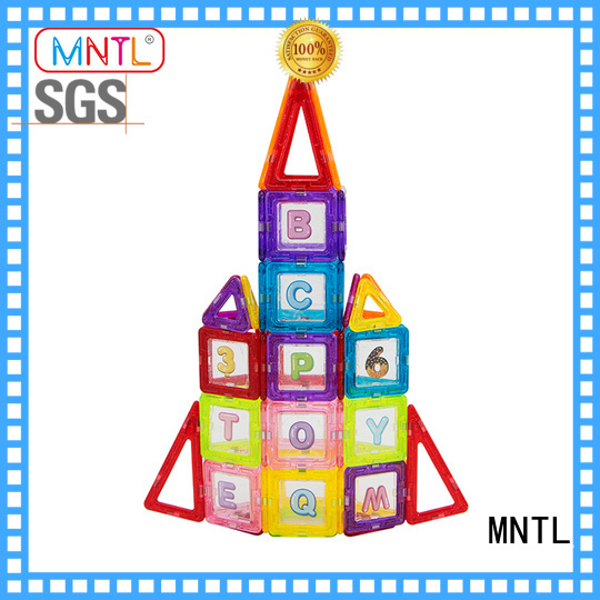 MNTL deep blue Mini building magnets supplier For Children