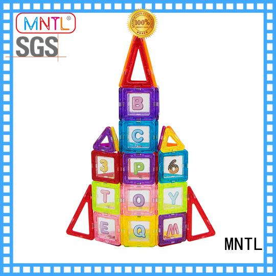 MNTL deep blue Mini building magnets supplier For Children