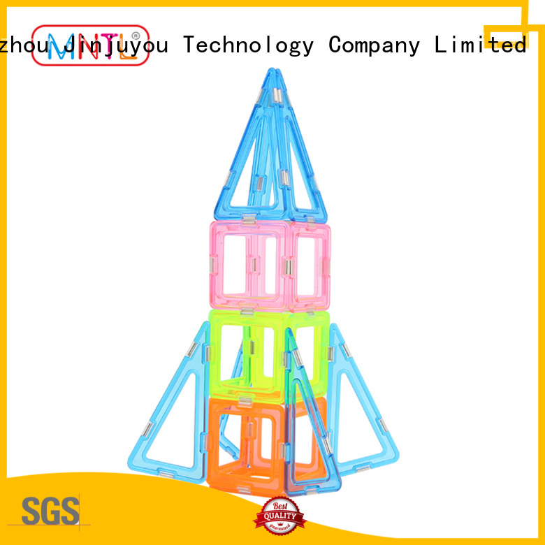 Breathable Crystal Magnetic Building Blocks Conventional OEM For Children
