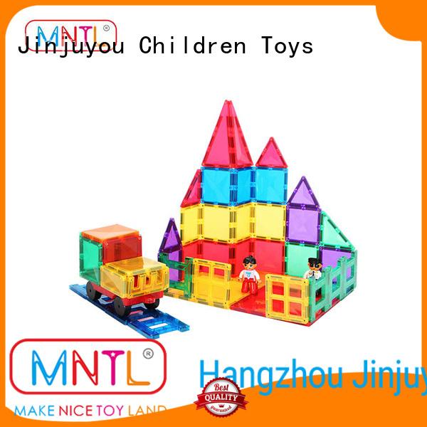 MNTL Red, magnetic tiles DIY For kids