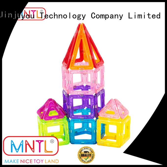 MNTL orange, Mini building magnets supplier For Children