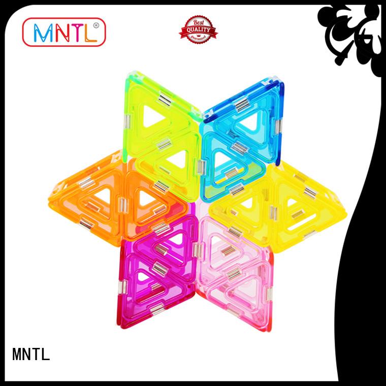 MNTL strong magnet Crystal picasso tiles OEM For Children