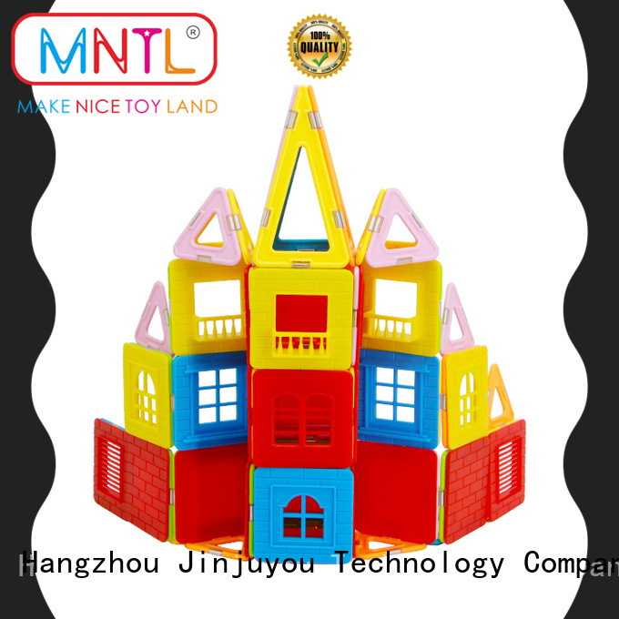 MNTL High quality magnetic squares and triangles customization For Children