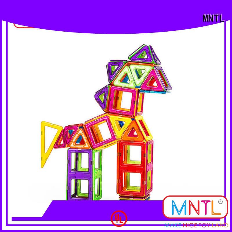 MNTL Red, magnetic blocks Best building block For Children