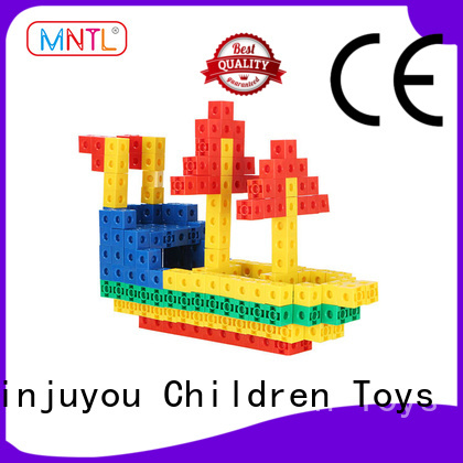MNTL rose red Plastic building toys purple For Toddler
