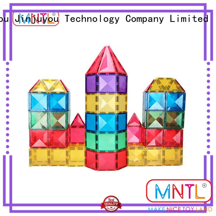 MNTL High quality magnetic tile set Best Toys For Children