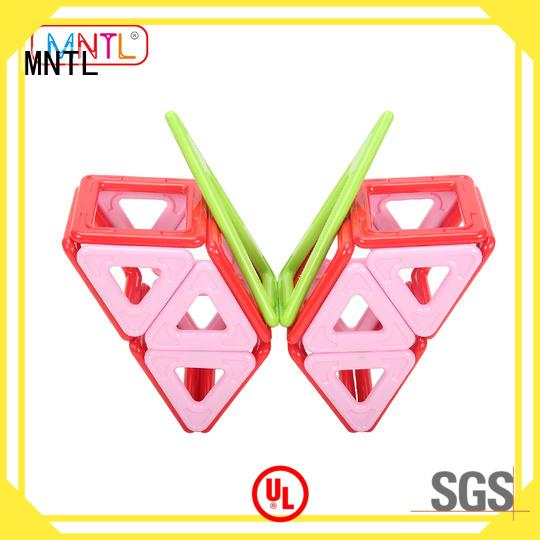 MNTL Deluxe 100Pcs Plastic Magnet Toy Blocks Set for Girls & Boys A8172 set