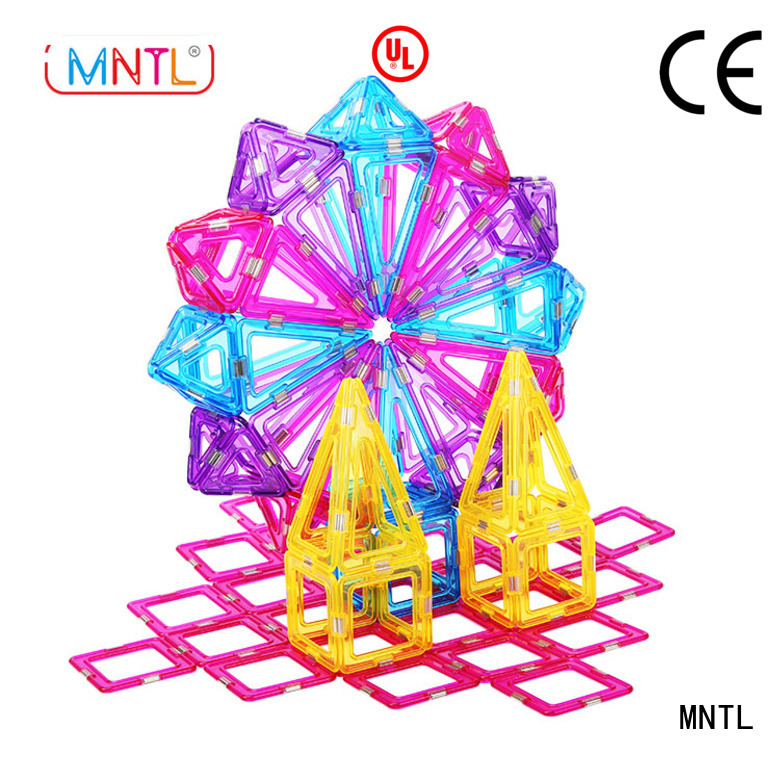 MNTL Conventional Crystal Magnetic Building Blocks ODM For Children