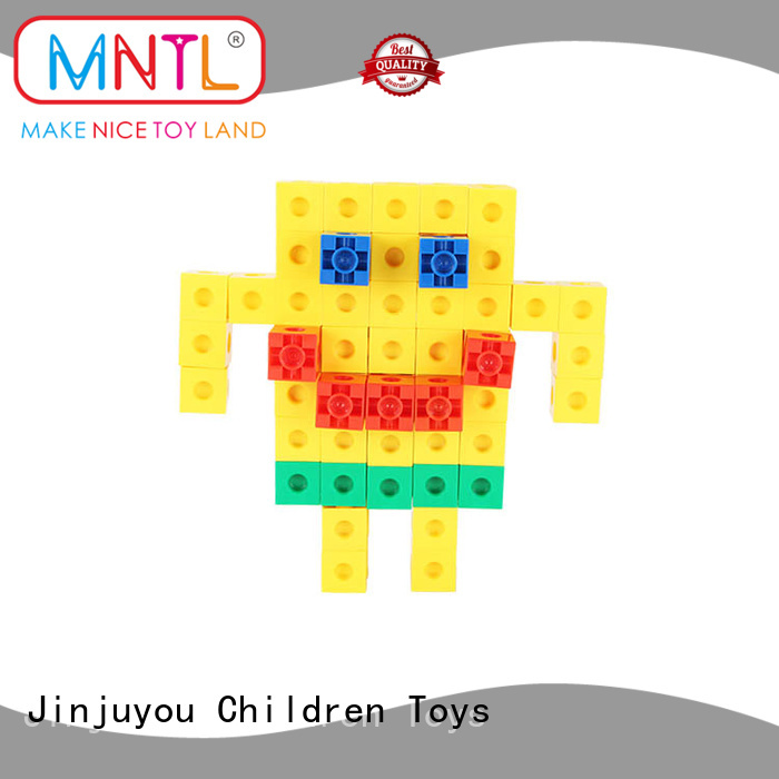 rose red building blocks for kids ABS plastic yellow, For Toddler
