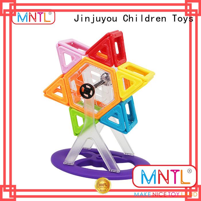 Hot building block magnetic blocks rose red Best Toys For Children