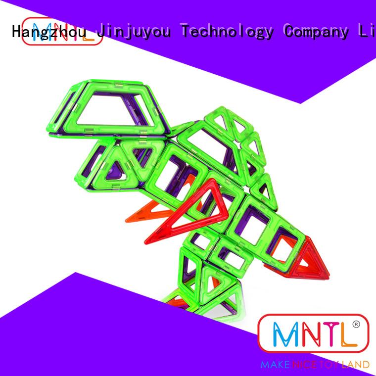 orange, Rotatable Magnetic Building Blocks rose red For Toddler MNTL