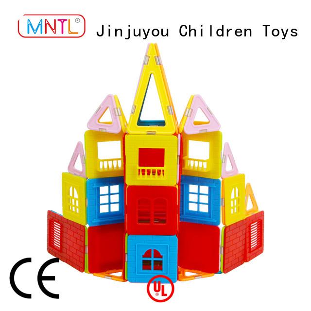 MNTL funky Crystal Magnetic Building Blocks ODM For Toddler