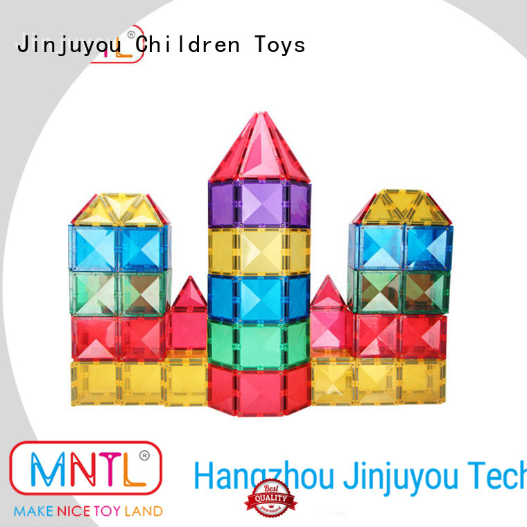 latest Magnetic Building Tiles strong magnet Best building block For kids