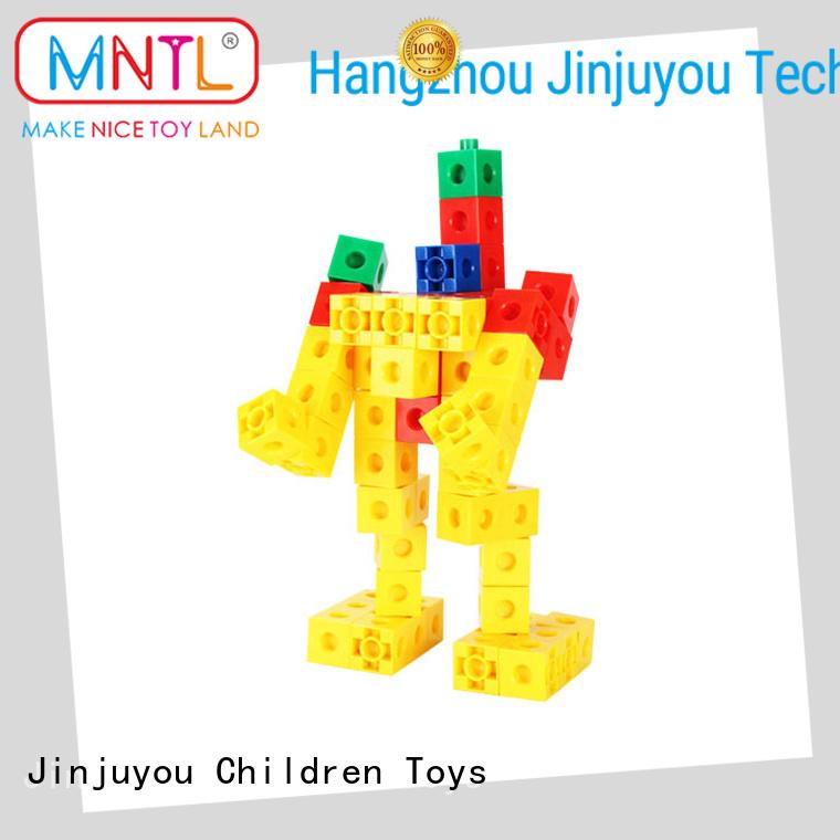 MNTL strong magnet plastic blocks toys orange, For kids