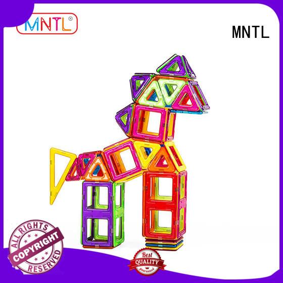 MNTL 2019 Classic Magnetic Building Blocks DIY For Toddler