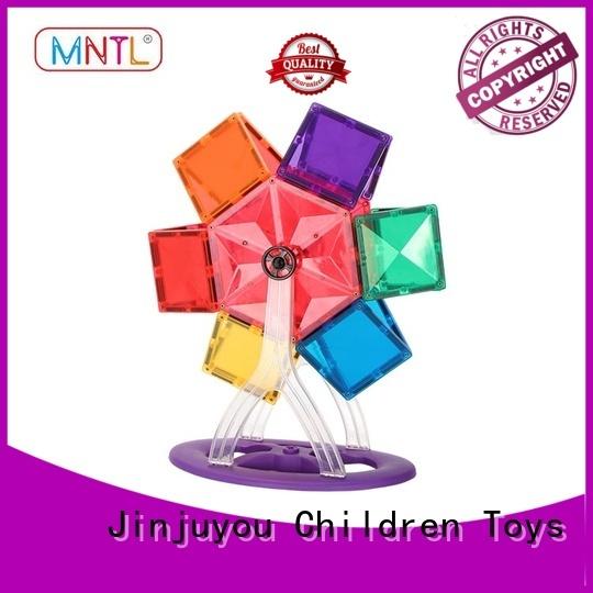 MNTL purple magnetic tiles kids DIY For Children