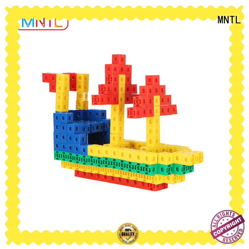 MNTL orange, Plastic building toys strong magnet For kids