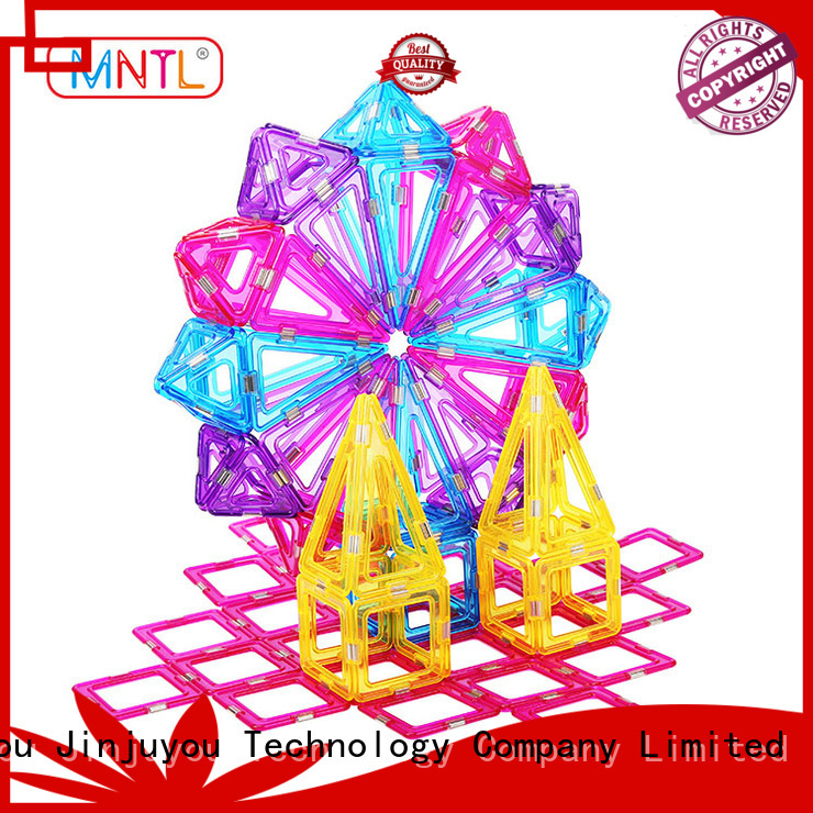 MNTL High quality magnetic blocks for toddlers for wholesale For Children