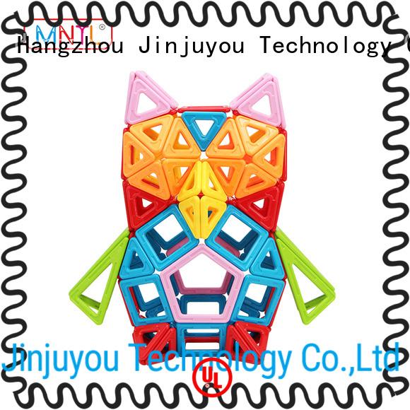 MNTL purple magnet building blocks Magnetic Construction Toys For Toddler