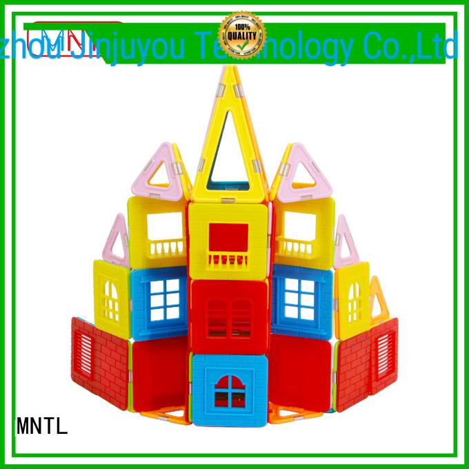 MNTL High quality Crystal blocks toys bulk production For Children