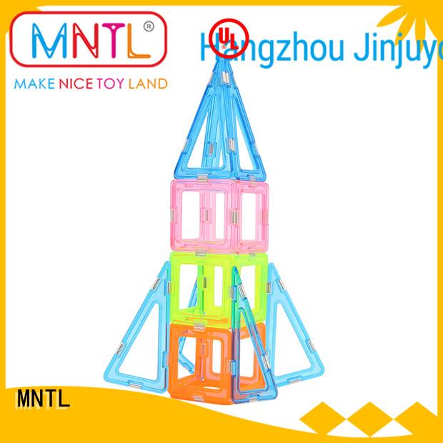 MNTL high-quality Crystal Magnetic Building Blocks free sample For Toddler