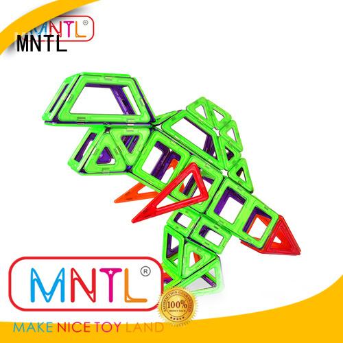 MNTL Newest magnetic blocks blue, For Toddler