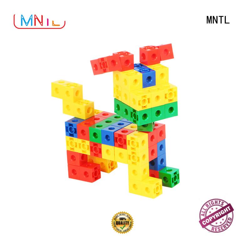 MNTL Inspirational plastic blocks toys green, For Children