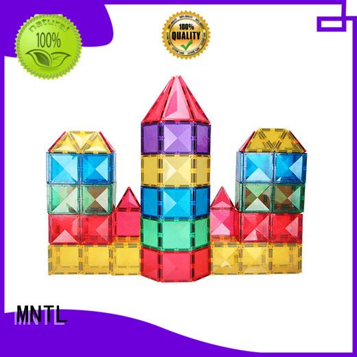 MNTL yellow, Magnetic Building Tiles Best building block For Children
