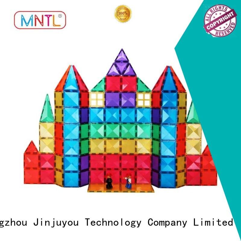 MNTL latest Magnetic Building Tiles DIY For kids
