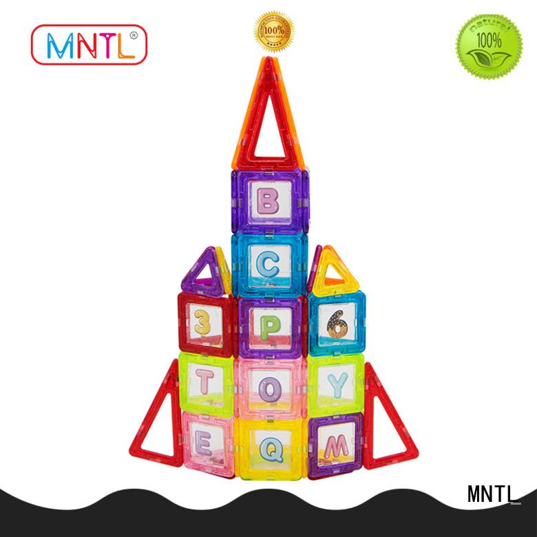 MNTL High quality Mini magnetic tiles supplier For Children